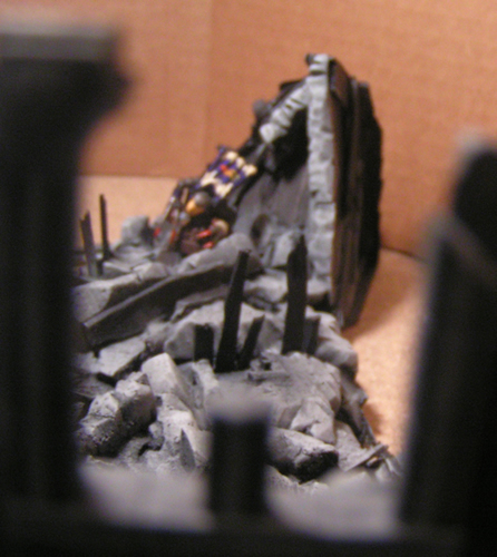 Skaven in the Rubble