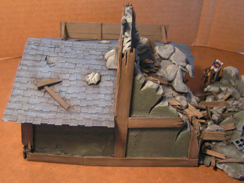 Collapsed Mordheim Tower - Tower