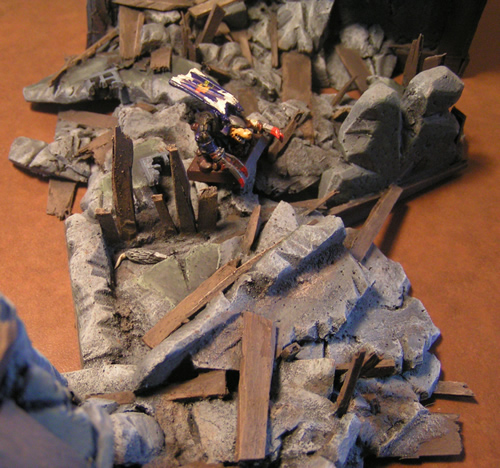 Collapsed Mordheim Tower Rubble
