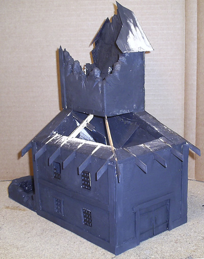 Mordheim Dice Tower - Front