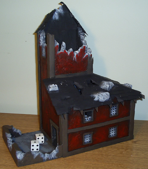 Mordheim Dice Tower