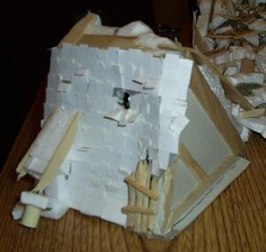 Fallen Roof - Beforign being destroyed