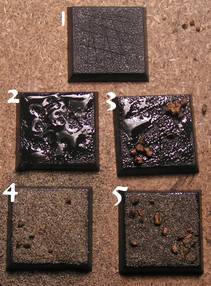 How to paint ruins bases tutorial • chest of colors.