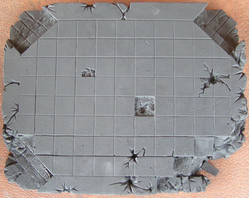 Mordheim Terrain from above