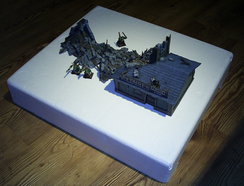 Mordheim Raised City Section