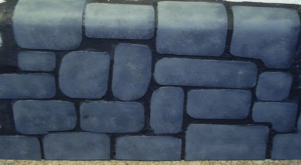 painted stone wallMordheim  Mordheim Stone Wall v10