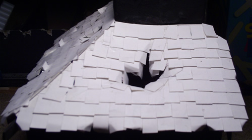 Mordheim Roof with a large hole