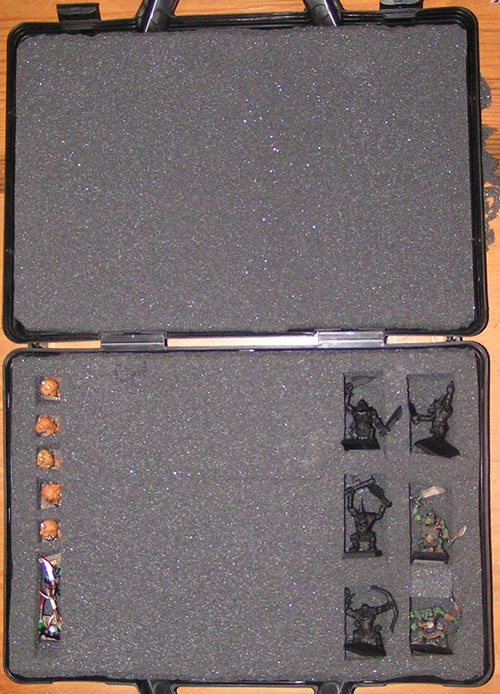 Mordheim Miniature Carrying Case